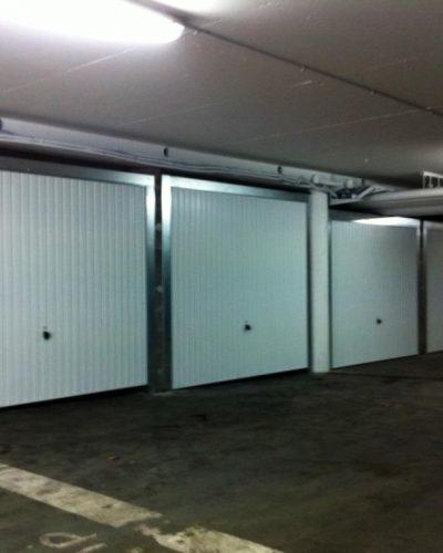 boxage de box avec portes de garage basculantes hormann