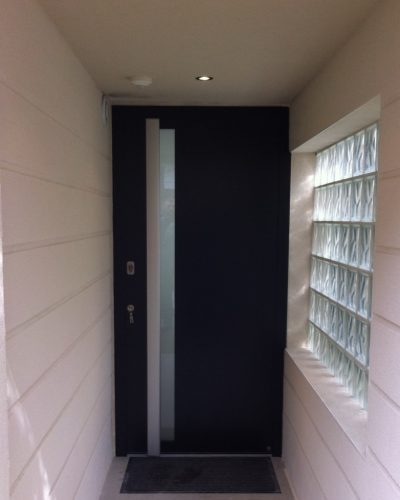 Porte d'entrée Hormann haut de gamme
