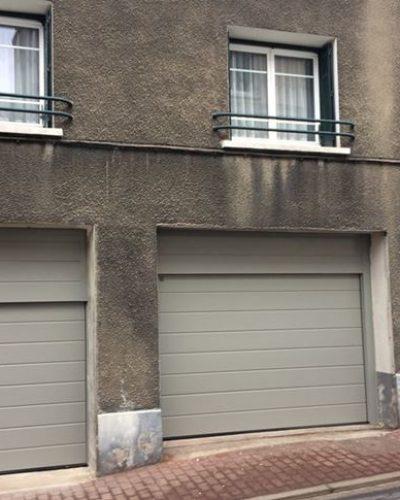 3 portes sectionnelles de garage ©preciselec