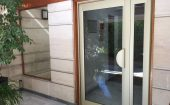 porte d'immeuble alu technal avec ventouse ©preciselec