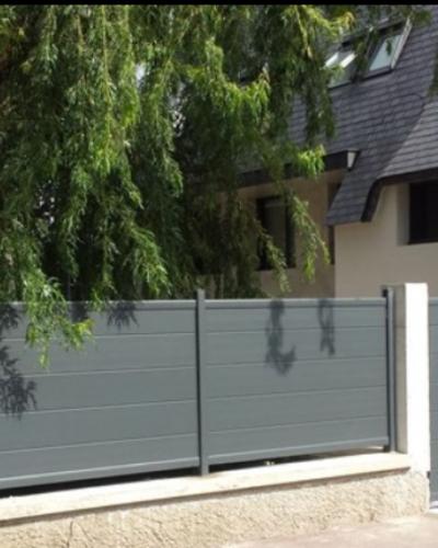 façade aluminium portail portillon et clôture marque sib ©preciselec