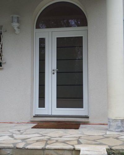 Porte d'entrée cintrée Bel'M modèle LOTUS
