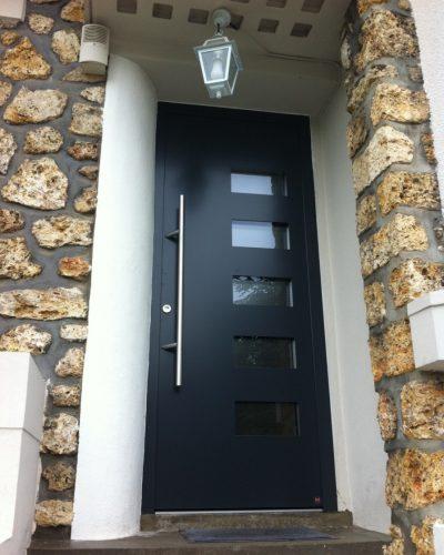 Porte d'entrée de villa top Prestige Plus Hormann