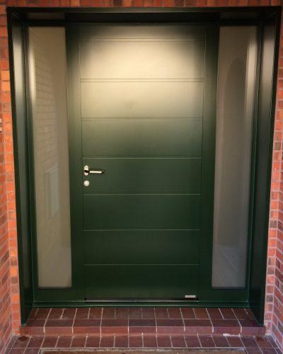 Porte d'entrée aluminium hormann thermosafe cr3