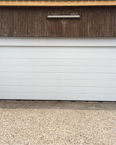 Porte de garage 6m de large Hormann