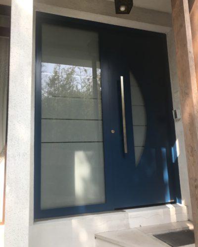 Porte D Entree Hormann Gamme Aluminium Et Acier Preciselec 78 Et 92